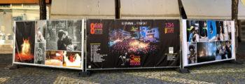 Août 2020 : Le Festival organise une Exposition Photos géante sur la Place Scanavin
